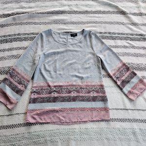 JEANSWEST   Paisley Top/Blouse Size 8